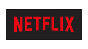 netflix black and red logo