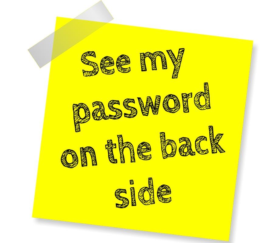 How not to handle passwords